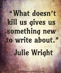 julie wright quote